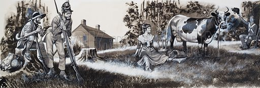 Laura Secord, picture, image, illustration