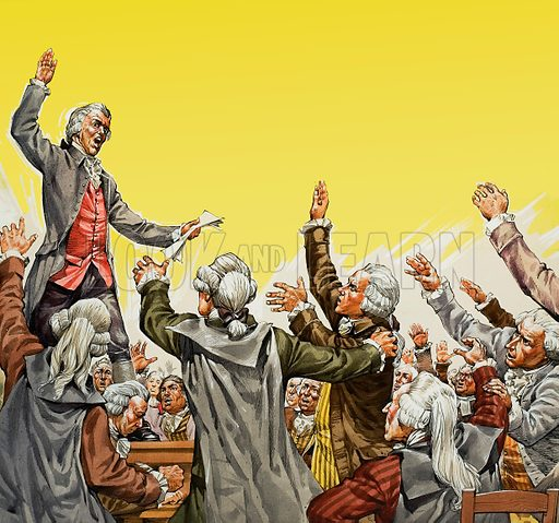 The Tennis Court Oath Look And Learn History Picture Library