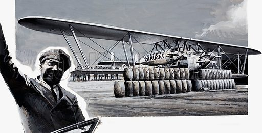 Igor Sikorsky, picture, image, illustration