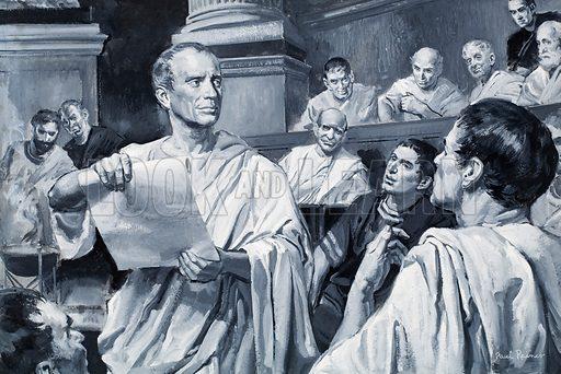 """Veni, vidi, vici."" (I came, I saw, I conquered): Julius Caesar's letter to the Roman Senate"