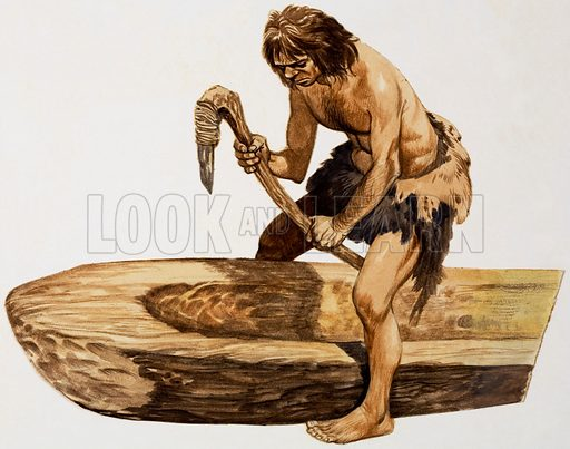 stone age, picture, image, illustration