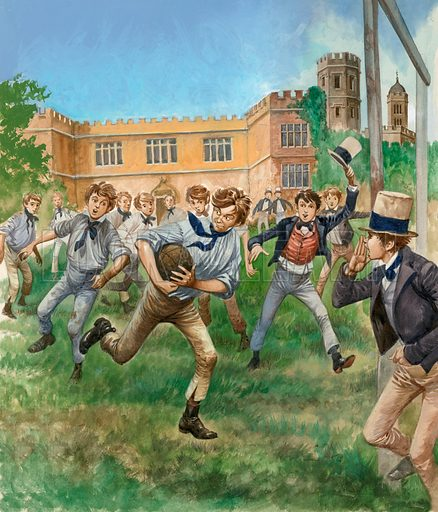 Rugby, picture, image, illustration