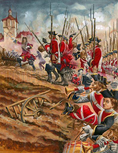 Battle of Blenheim.
