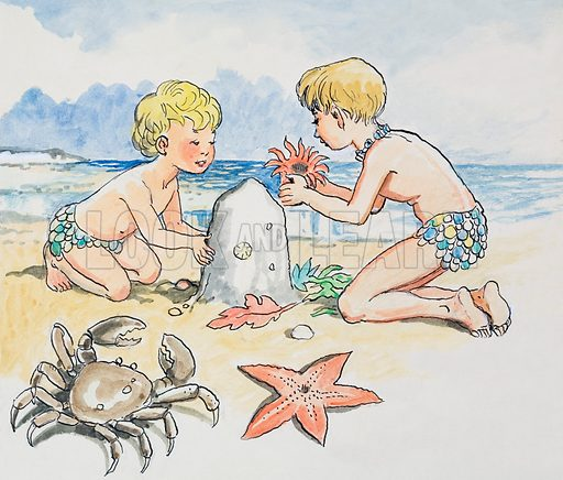 The Water Babies, based on the novel by Charles Kingsley. From Treasure (17 July 1965).
