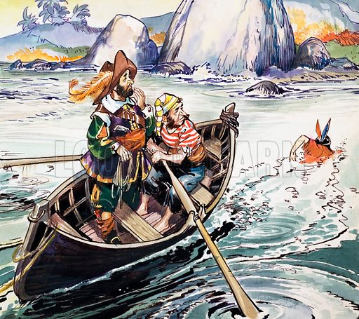 Peter Pan and Wendy. From Playhour (1958–59).