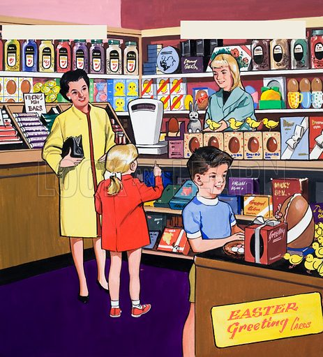 confectioners, picture, image, illustration