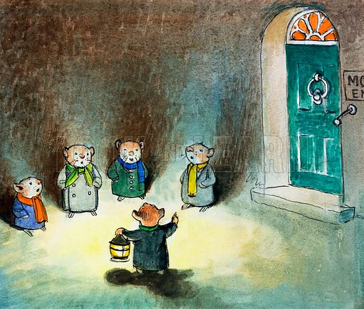 The Wind in the Willows. Original artwork for Treasure.