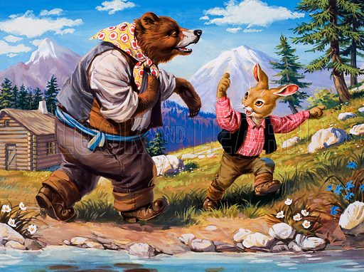 Brer Rabbit. From Once Upon a Time (1969-72).