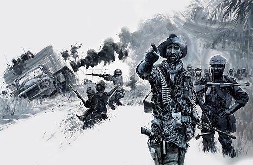 Mercenaries in Nigeria, picture, image, illustration