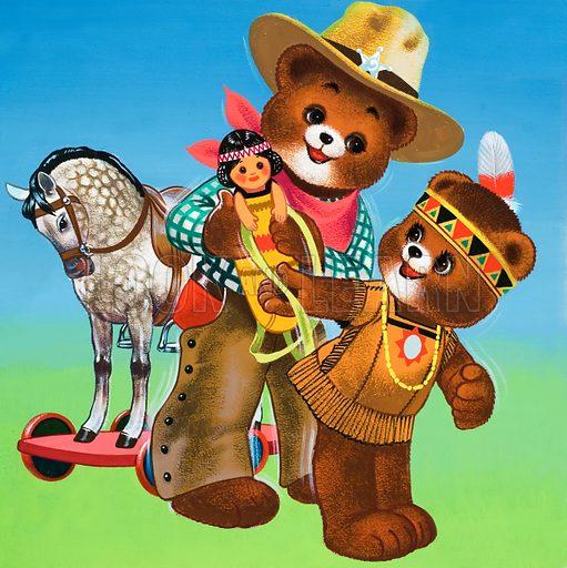Teddy Bear covers, 1960s