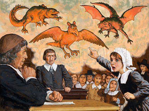 the crucible salem witch trials