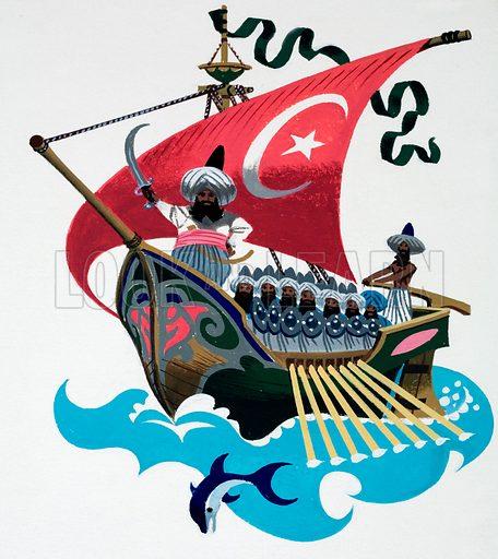 Persian ship.