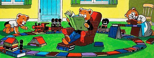Teddy Bear. From Teddy Bear (10 February 1985).