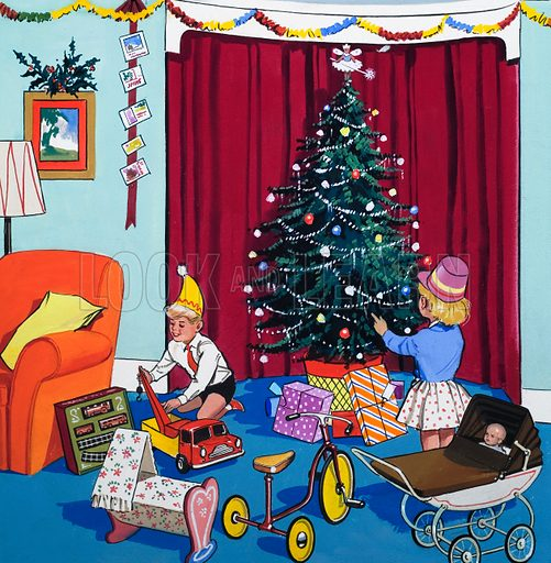 Christmas, picture, image, illustration