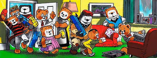 Teddy Bear. From Teddy Bear (original date unknown, artwork dated 15/4/78).