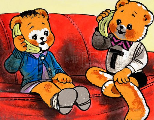 Teddy Bear. From Teddy Bear (8 November 1980).