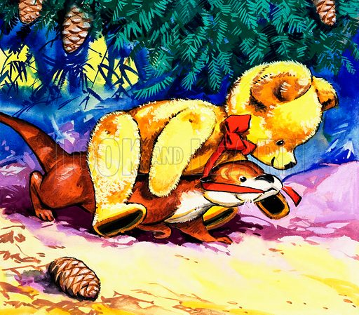 Fliptail the Otter. From Playhour (28 February 1981).