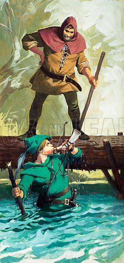 Scenes from Robin Hood.
