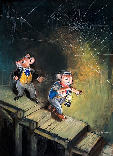 Town Mouse and Country Mouse. From Once Upon a Time no. 105.