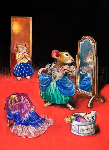 Town Mouse and Country Mouse. From Once Upon a Time no. 86.