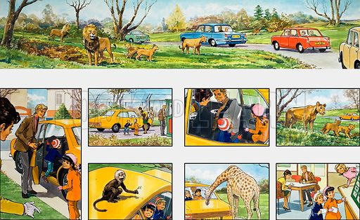Mother Shows You How: visiting a safari park. From Teddy Bear (11 November 1972).