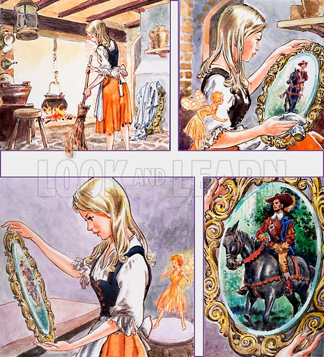 The Magic Mirror. From Once Upon a Time no. 119 (22 May 1971).