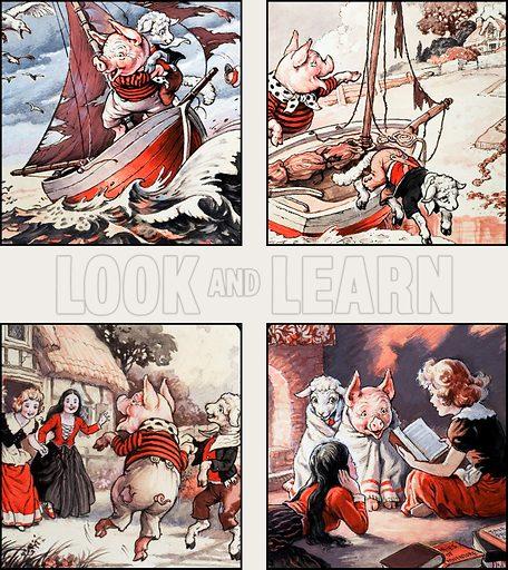 Pig and Lamb go Sailing.
