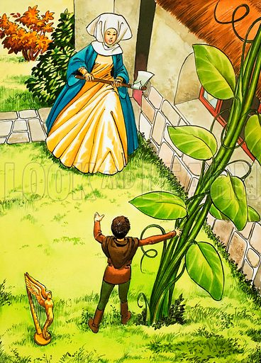 Jack and the Beanstalk. From Once Upon a Time (1969).