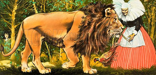 The Enchanted Lion. From Once Upon a Time (1971).