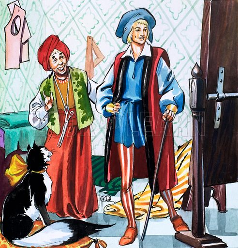 Dick Whittington and His Cat. Source unknown.