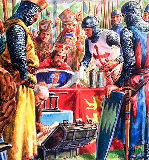 Magna Carta, picture, image, illustration