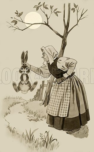 A Rabbit by the Ears.