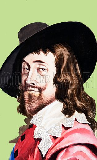 King Charles I. Original artwork.
