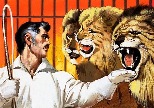 Lion tamer.