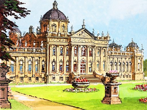 Castle Howard, picture, image, illustration
