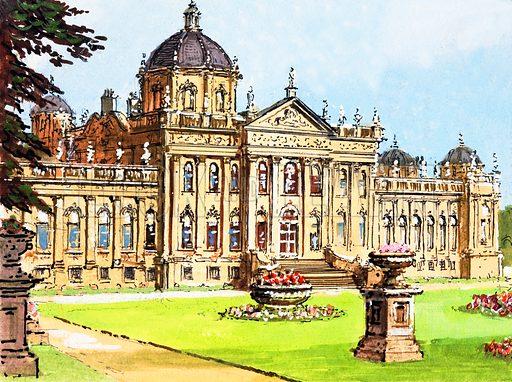 Castle Howard. Original artwork.