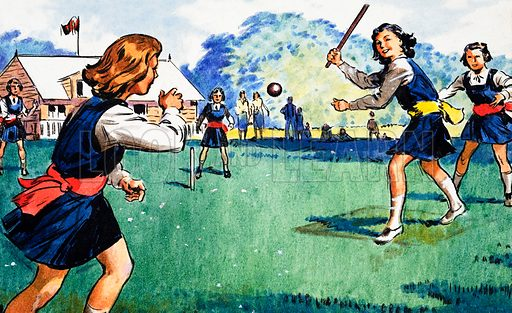 Rounders. Panel from cover of Look and Learn no. 236 (23 July 1966).