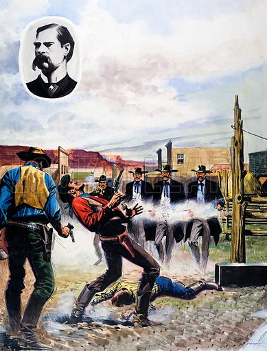 Wyatt Earp and the Battle of the OK Corral.