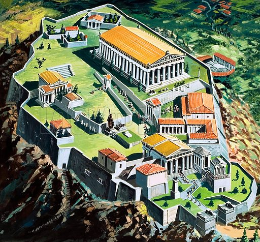 Athens,  picture, image, illustration