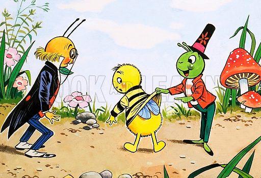 Gregory Grasshopper. From Jack & Jill (date unknown).