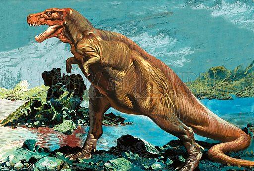 Tyranosaurus Rex.