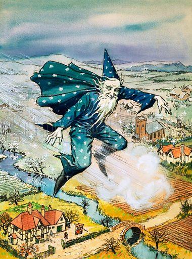 Flying Wizard. From Teddy Bear (20 February 1965).