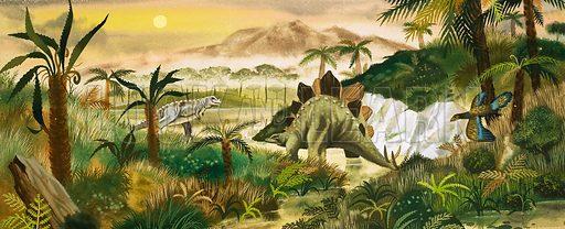Cretaceous Period, picture, image, illustration