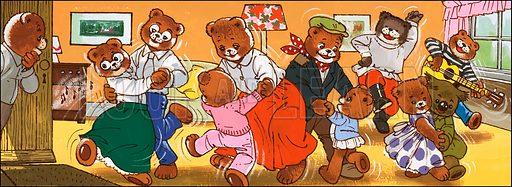 Teddy Bear. Original artwork from Teddy Bear (date unknown).