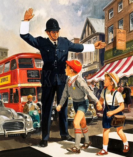 People You See. Policeman. From Teddy Bear (12 October 1963).