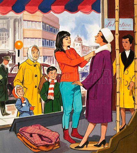 People You See. Window Dresser. From Teddy Bear (20 February 1965).