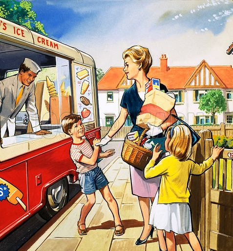 People You See. Ice Cream Man. From Teddy Bear (24 July (year unknown)).
