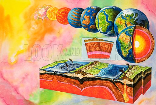 Earth, picture, image, illustration