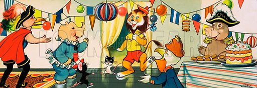 Leo the Friendly Lion. From Playhour (date unknown).