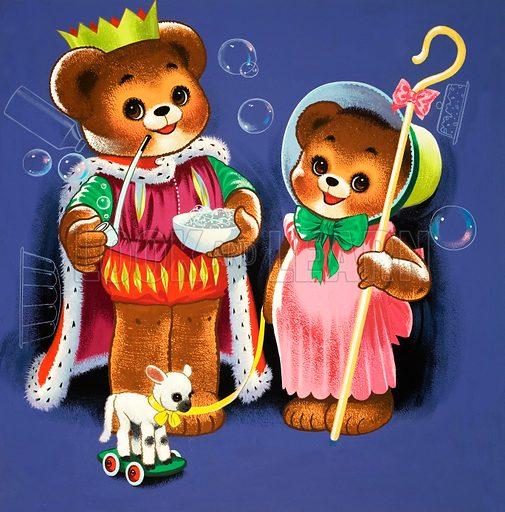 Teddy Bear. From Teddy Bear (November [year unknown]).